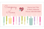 Add youthful whimsy to your projects with customizable pre-designed Nail Polish templates.
