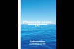 Ciel-océan Carte Postale - gabarit prédéfini. <br/>Utilisez notre logiciel Avery Design & Print Online pour personnaliser facilement la conception.