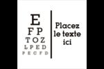 Tableau oculaire Étiquettes enveloppantes - gabarit prédéfini. <br/>Utilisez notre logiciel Avery Design & Print Online pour personnaliser facilement la conception.