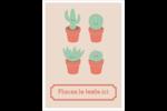 Plantes en pot fantaisistes Étiquettes rondes - gabarit prédéfini. <br/>Utilisez notre logiciel Avery Design & Print Online pour personnaliser facilement la conception.
