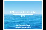 Ciel-océan Cartes Et Articles D'Artisanat Imprimables - gabarit prédéfini. <br/>Utilisez notre logiciel Avery Design & Print Online pour personnaliser facilement la conception.