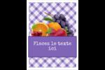 Confiture Étiquettes rondes - gabarit prédéfini. <br/>Utilisez notre logiciel Avery Design & Print Online pour personnaliser facilement la conception.