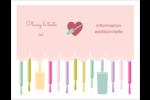 Vernis à ongles Cartes Et Articles D'Artisanat Imprimables - gabarit prédéfini. <br/>Utilisez notre logiciel Avery Design & Print Online pour personnaliser facilement la conception.