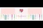 Vernis à ongles Carte de note - gabarit prédéfini. <br/>Utilisez notre logiciel Avery Design & Print Online pour personnaliser facilement la conception.