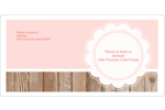 Dentelle sur bois Étiquettes de classement écologiques - gabarit prédéfini. <br/>Utilisez notre logiciel Avery Design & Print Online pour personnaliser facilement la conception.
