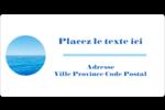 Ciel-océan Étiquettes de classement écologiques - gabarit prédéfini. <br/>Utilisez notre logiciel Avery Design & Print Online pour personnaliser facilement la conception.