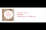 Dentelle sur bois Intercalaires / Onglets - gabarit prédéfini. <br/>Utilisez notre logiciel Avery Design & Print Online pour personnaliser facilement la conception.