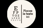Tableau oculaire Étiquettes de classement - gabarit prédéfini. <br/>Utilisez notre logiciel Avery Design & Print Online pour personnaliser facilement la conception.