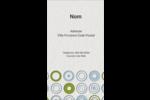 Cercles professionnels Carte d'affaire - gabarit prédéfini. <br/>Utilisez notre logiciel Avery Design & Print Online pour personnaliser facilement la conception.