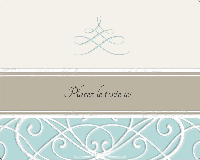 """2"""" Diameter Étiquettes rondes gaufrées - Typographie élégante"""