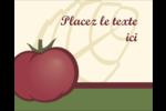 Tomate italienne Étiquettes rondes gaufrées - gabarit prédéfini. <br/>Utilisez notre logiciel Avery Design & Print Online pour personnaliser facilement la conception.