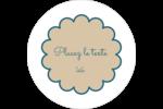 Baume à lèvres cachemire Étiquettes arrondies - gabarit prédéfini. <br/>Utilisez notre logiciel Avery Design & Print Online pour personnaliser facilement la conception.