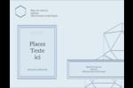 Sphères modernes pour typographie Carte Postale - gabarit prédéfini. <br/>Utilisez notre logiciel Avery Design & Print Online pour personnaliser facilement la conception.