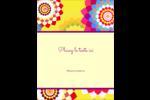 Baume à lèvres kaléidoscope Carte Postale - gabarit prédéfini. <br/>Utilisez notre logiciel Avery Design & Print Online pour personnaliser facilement la conception.