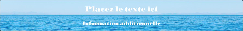 """1½"""" x 2½"""" Étiquettes ovales - Ciel-océan"""