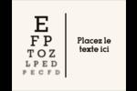 Tableau oculaire Étiquettes rondes gaufrées - gabarit prédéfini. <br/>Utilisez notre logiciel Avery Design & Print Online pour personnaliser facilement la conception.