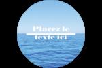 Ciel-océan Étiquettes de classement - gabarit prédéfini. <br/>Utilisez notre logiciel Avery Design & Print Online pour personnaliser facilement la conception.