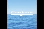 Ciel-océan Étiquettes carrées - gabarit prédéfini. <br/>Utilisez notre logiciel Avery Design & Print Online pour personnaliser facilement la conception.