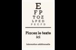 Tableau oculaire Reliures - gabarit prédéfini. <br/>Utilisez notre logiciel Avery Design & Print Online pour personnaliser facilement la conception.