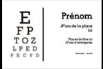 Tableau oculaire Étiquettes à codage couleur - gabarit prédéfini. <br/>Utilisez notre logiciel Avery Design & Print Online pour personnaliser facilement la conception.