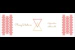 Triangles modernes pour typographie Carte de note - gabarit prédéfini. <br/>Utilisez notre logiciel Avery Design & Print Online pour personnaliser facilement la conception.
