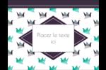 Grue en origami Carte Postale - gabarit prédéfini. <br/>Utilisez notre logiciel Avery Design & Print Online pour personnaliser facilement la conception.