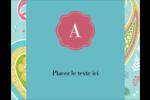Cachemire Carte Postale - gabarit prédéfini. <br/>Utilisez notre logiciel Avery Design & Print Online pour personnaliser facilement la conception.