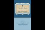 Art nouveau Carte d'affaire - gabarit prédéfini. <br/>Utilisez notre logiciel Avery Design & Print Online pour personnaliser facilement la conception.