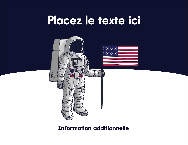 """4¼"""" X 5½"""" Carte Postale - Astronaute"""