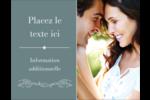 Cachet français Carte Postale - gabarit prédéfini. <br/>Utilisez notre logiciel Avery Design & Print Online pour personnaliser facilement la conception.