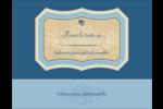 Art nouveau Carte Postale - gabarit prédéfini. <br/>Utilisez notre logiciel Avery Design & Print Online pour personnaliser facilement la conception.