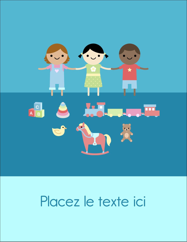 """5½"""" x 4¼"""" Carte Postale - Éducation et préscolaire"""
