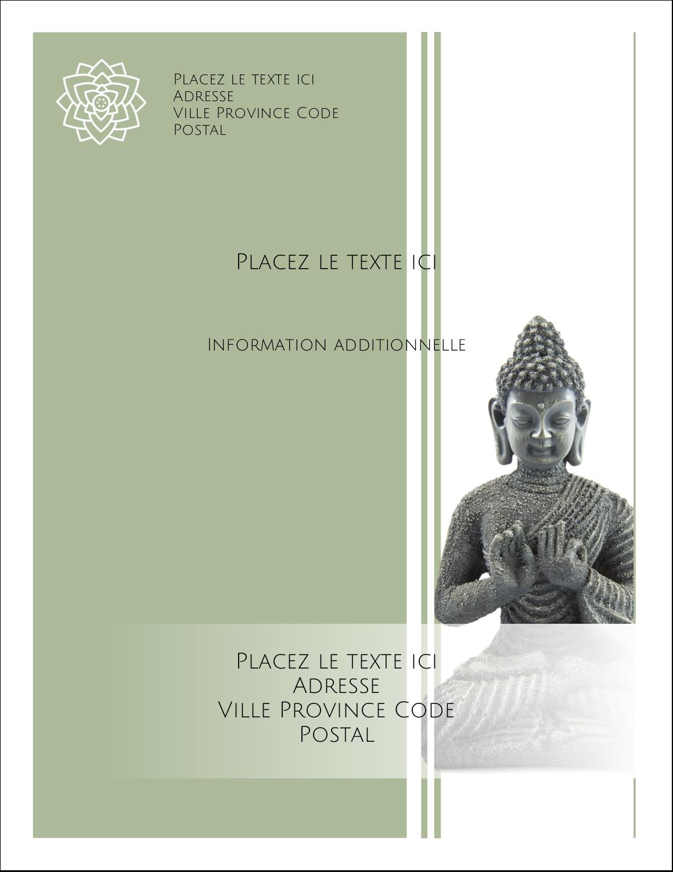 "5½"" x 4¼"" Carte Postale - Bouddha"