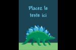 Dinosaure Carte Postale - gabarit prédéfini. <br/>Utilisez notre logiciel Avery Design & Print Online pour personnaliser facilement la conception.
