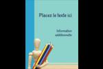 Enseignement des arts Carte Postale - gabarit prédéfini. <br/>Utilisez notre logiciel Avery Design & Print Online pour personnaliser facilement la conception.