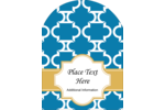 Add old-world charm to modern projects with pre-designed Moroccan Tile Blue templates.