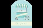 Chariot à crème glacée Étiquettes rectangulaires - gabarit prédéfini. <br/>Utilisez notre logiciel Avery Design & Print Online pour personnaliser facilement la conception.