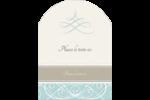 Typographie élégante Étiquettes rectangulaires - gabarit prédéfini. <br/>Utilisez notre logiciel Avery Design & Print Online pour personnaliser facilement la conception.