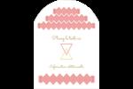 Triangles modernes pour typographie Étiquettes rectangulaires - gabarit prédéfini. <br/>Utilisez notre logiciel Avery Design & Print Online pour personnaliser facilement la conception.