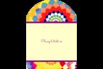 Baume à lèvres kaléidoscope Étiquettes rectangulaires - gabarit prédéfini. <br/>Utilisez notre logiciel Avery Design & Print Online pour personnaliser facilement la conception.
