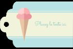Chariot à crème glacée Étiquettes imprimables - gabarit prédéfini. <br/>Utilisez notre logiciel Avery Design & Print Online pour personnaliser facilement la conception.