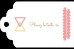 Triangles modernes pour typographie Étiquettes imprimables - gabarit prédéfini. <br/>Utilisez notre logiciel Avery Design & Print Online pour personnaliser facilement la conception.