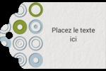 Cercles professionnels Étiquettes imprimables - gabarit prédéfini. <br/>Utilisez notre logiciel Avery Design & Print Online pour personnaliser facilement la conception.