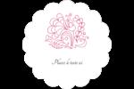 Baume à lèvres Étiquettes festonnées - gabarit prédéfini. <br/>Utilisez notre logiciel Avery Design & Print Online pour personnaliser facilement la conception.