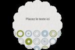 Cercles professionnels Étiquettes rondes - gabarit prédéfini. <br/>Utilisez notre logiciel Avery Design & Print Online pour personnaliser facilement la conception.