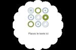 Cercles professionnels Étiquettes festonnées - gabarit prédéfini. <br/>Utilisez notre logiciel Avery Design & Print Online pour personnaliser facilement la conception.