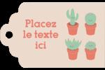 Plantes en pot fantaisistes Étiquettes imprimables - gabarit prédéfini. <br/>Utilisez notre logiciel Avery Design & Print Online pour personnaliser facilement la conception.