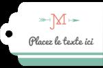 Monogramme Étiquettes imprimables - gabarit prédéfini. <br/>Utilisez notre logiciel Avery Design & Print Online pour personnaliser facilement la conception.