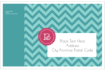 pre-designed Monogram Chevron templates make it easy to customize a variety of projects.