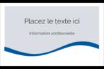 Vague bleue  Étiquettes D'Identification - gabarit prédéfini. <br/>Utilisez notre logiciel Avery Design & Print Online pour personnaliser facilement la conception.